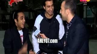 مسخرة وكوميديا علي ربيع نجم تياترو مصر اهلاوي عن قمة الزمالك