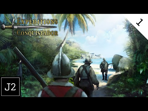 Expeditions Conquistador Hispaniola Campaign Gameplay - To The New World - Part 1