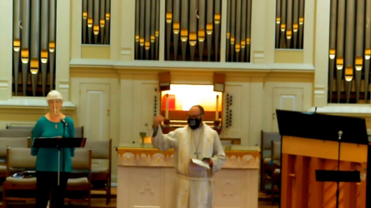 5.9.21 Worship at Tahlequah Unitied Methodist Church