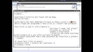 Software Eclipse Juno (Android Developer Tools (ADT)