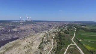 Elektrownia Bełchatów, Kopalnia węgla brunatnego Bełchatów, Żłobnica - okiem drona
