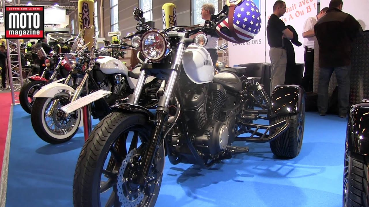 Salon de la moto de paris 2013 zoom sur le petit trike - Salon de la moto 2013 ...