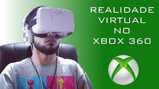 Óculos de Realidade Virtual no Xbox 360