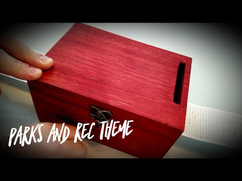 Parks and Rec Theme 30 Note DIY Music Box