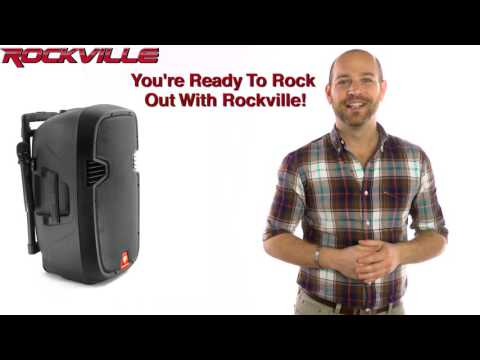 Rockville Ram 12bt/Ram15bt Bluetooth Rechargeable Youtube Karaoke System