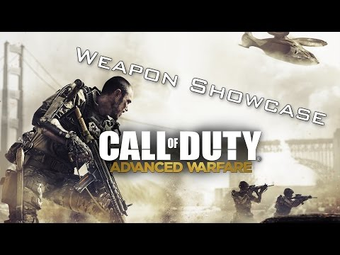 All Weapons Shown - Call Of Duty: Advanced Warfare