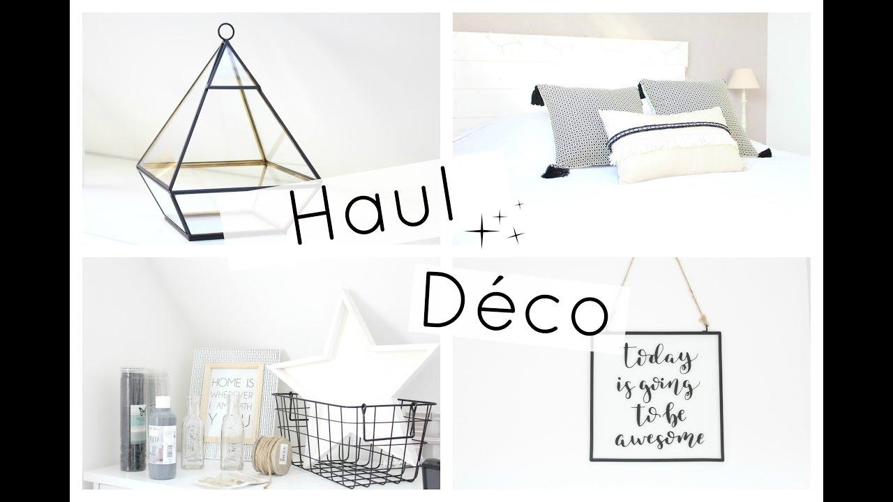 haul deco action maison du monde youtube. Black Bedroom Furniture Sets. Home Design Ideas