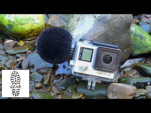 """Tech: GoPro Outdoor-Mikrofon """"MKE 2 elements"""" von Sennheiser"""