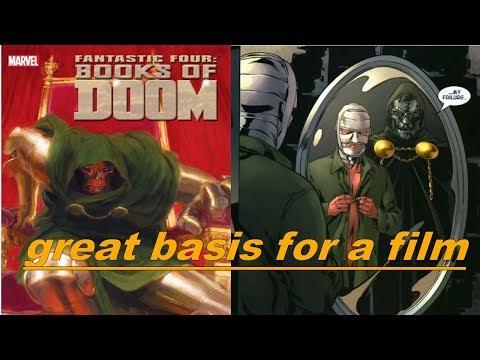 Books of Doom Graphic Novel comic book review