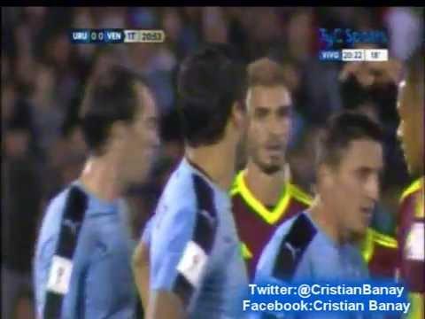 Uruguay 3 Venezuela 0 (13 a 0) Eliminatorias Rusia 2018