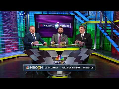 Alex Corbisiero and Dan Lyle on the form teams | NBC on NatWest 6 Nations