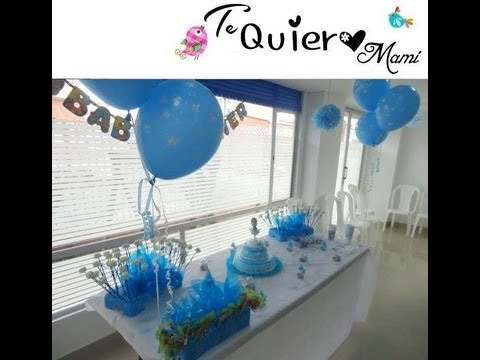 Como decorar el baby shower fotos con el paso a paso for Como decorar una oficina en casa
