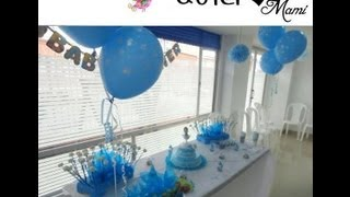 Como decorar el baby shower – FOTOS con el PASO A PASO