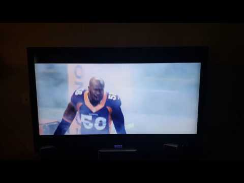 Broncos vs Panthers  Commercial