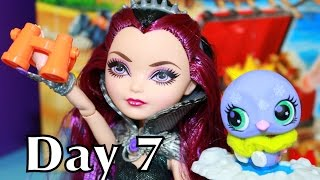 surprise toys christmas advent calendar ever after high raven barbie lps lego city playmobil day 7