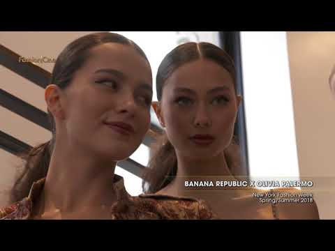 BANANA REPUBLIC x OLIVIA PALERMO New York Fashion Week Spring Summer 2018