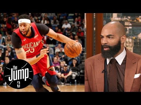 Carlos Boozer on Anthony Davis: You don't want to see his talent be wasted | The Jump | ESPN