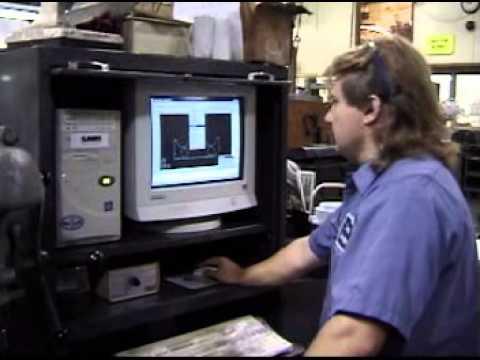 Computer Controlled Machine Tool Operator