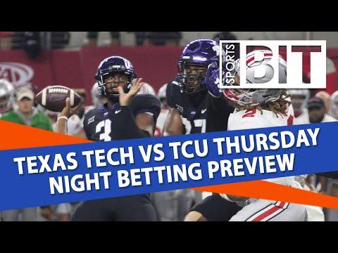 Texas Tech vs TCU Week 7 College Football Picks & Betting Preview | Sports BIT NCAAF Picks