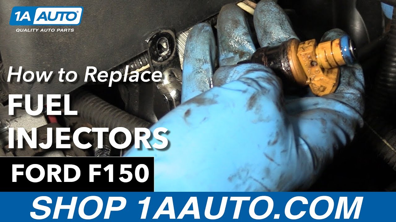 How To Replace Fuel Injectors 97 04 Ford F150