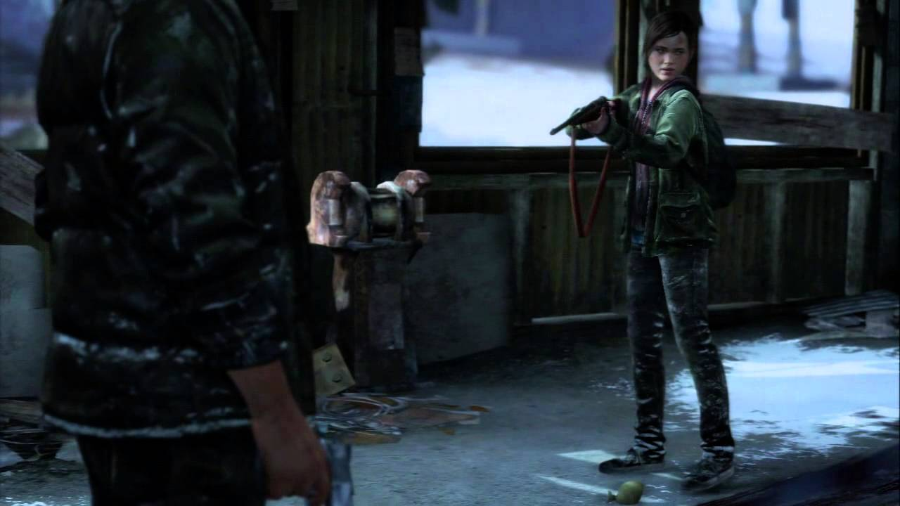 Last of us ellie gets creampied by home invader - 5 2