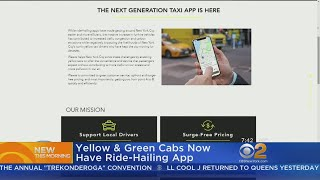 New Ride-Hailing App Launches For Yellow, Green Taxi Cabs