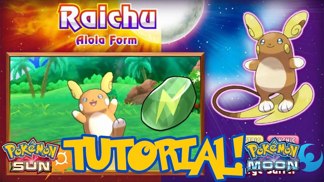 pokemon yellow how to get raichu