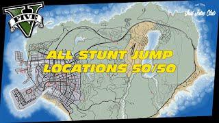 Gta Online All Stunt Jump Locations Tutorial Full Guide
