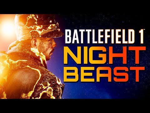 Battlefield 1: NIGHTBEAST - Tearing it up with the new Guns! (4K 60FPS PS4 PRO Gameplay)
