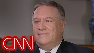Pompeo threatens Iran, slams John Kerry