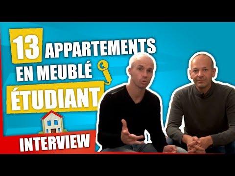 13 appartements en meublé étudiant