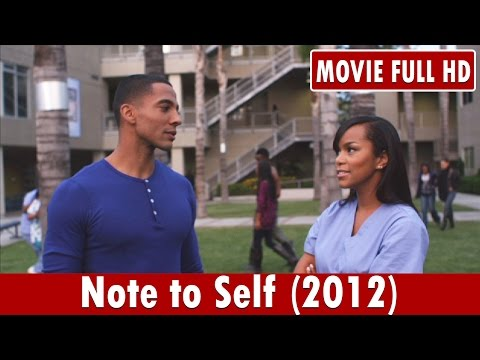 Note to Self 2012 Movie **  Christian Keyes, Letoya Luckett, Richard T. Jones