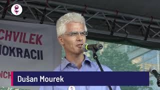 Demonstrace 5. 6. 2018 - Dušan Mourek (bývalý člen ANO)