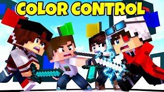 ОБНОВЛЕНИЕ НА КОНТРОЛЕ ЦВЕТА! 4х5 СЛОЖНАЯ ИГРА! Minecraft COLOR CONTROL Cristalix