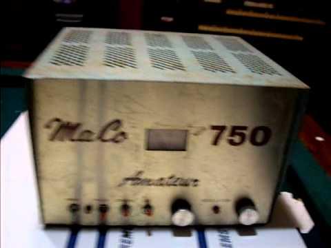 Maco 300 amateur amplifier