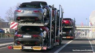 2014 Jaguar F-Type V8 S - Exhaust sounds!