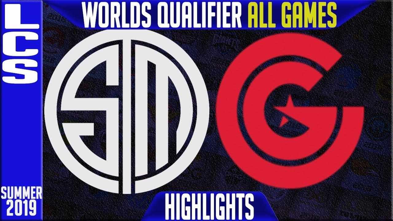 TSM vs CG Highlights ALL GAMES   LCS Summer 2019 Worlds Qualifier   Team  Solomid vs Clutch Gaming
