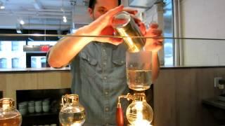 Blue Bottle Coffee - Vacuum Preparation Method at 450 West 15th Street
