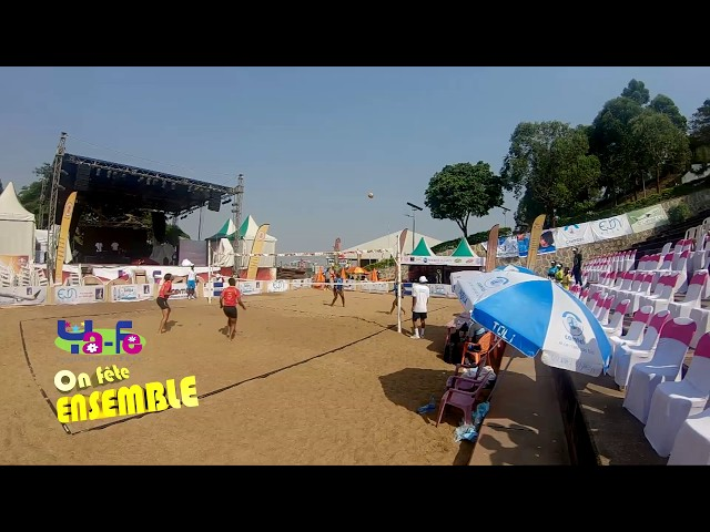 Du beach volley à Ya-Fe 2019