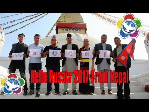 Hello Russia 2017 From Nepal | Nepalese Delegates Going To Russia
