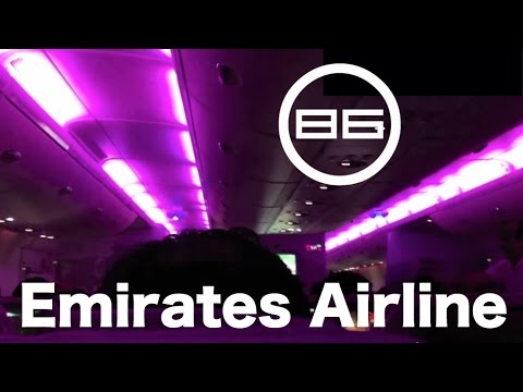 エミレーツ航空 (UAE) の機内 / Emirates Airlines / Cabin, In-Flight Meals, Personal Monitor & Fixtures