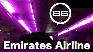 エミレーツ航空 (UAE) の機内 / Emirates Airlines / Cabin, In-Flight Meals, Personal Monitor & Fixtures