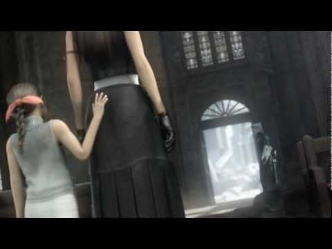 Final Fantasy VII Advent Children - Tifa's fight poster