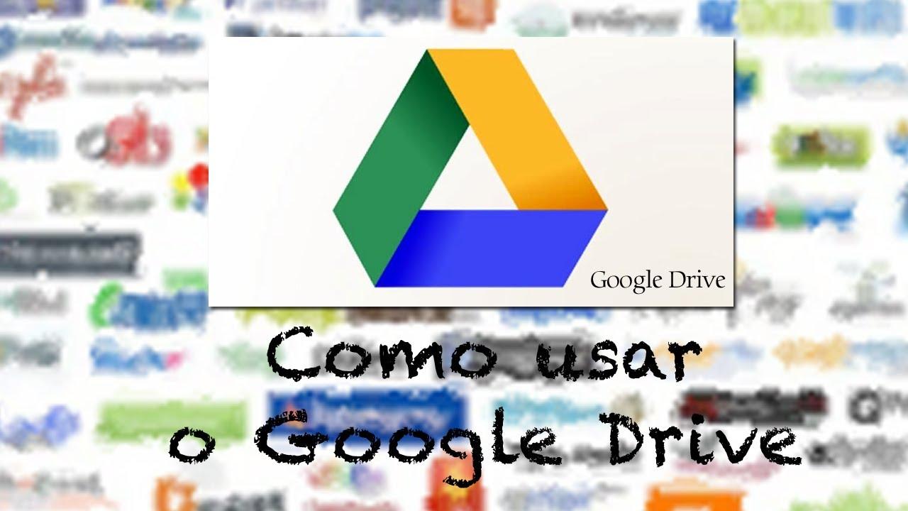 Como usar o google drive youtube como usar o google drive stopboris Image collections