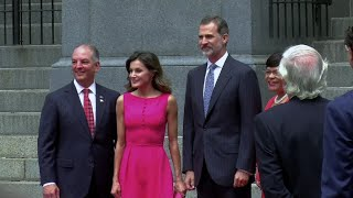 King of Spain Gets Key to New Orleans