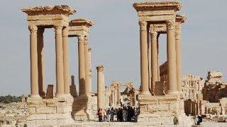 الزيارة إلى مدينة تدمر الأثرية