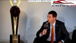 CFP Coaches Nick Sabin, Chris Peterson, Dabo Sweeney, Urban Myer