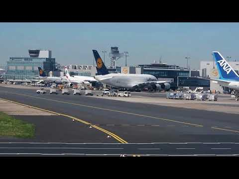 2017/06/11 Gate Announcements at Frankfurt International Airport