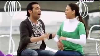 شوف الرومانسيه بين سوكا وهاجر  سعد الصغير بيغني لحبيبته مسلسل دلع بنات