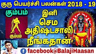 கும்பம் - குரு பெயர்ச்சி பலன்கள் 2018 - 2019 | Guru Peyarchi Palangal 2018 to 2019 | Kumba Rasi